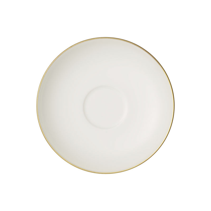 Villeroy & Boch - Anmut Gold - spodek do filiżanki do espresso - średnica: 12 cm