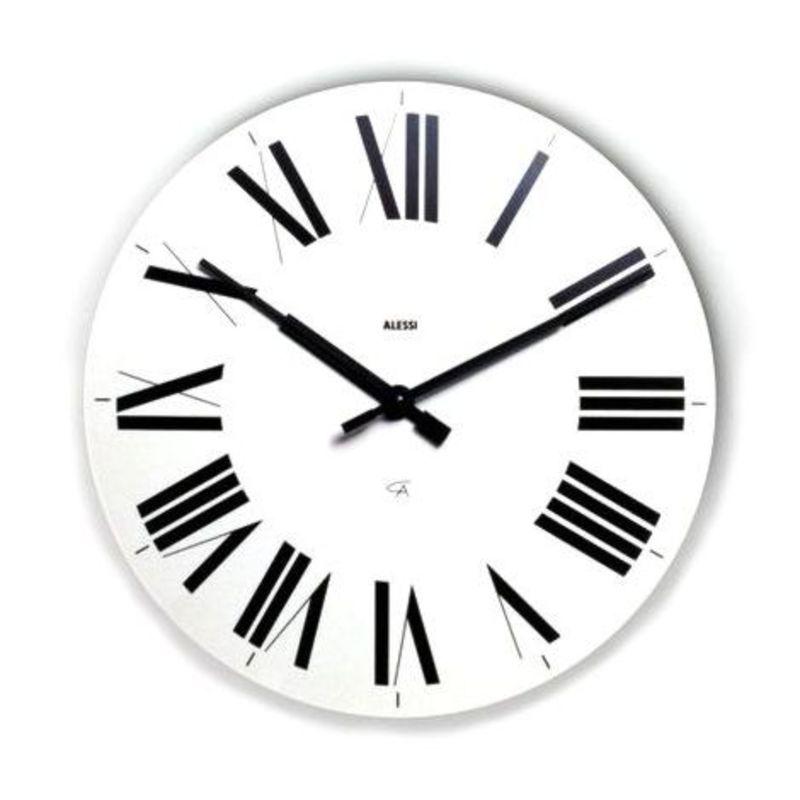 Alessi - Firenze - zegar ścienny - średnica: 36 cm