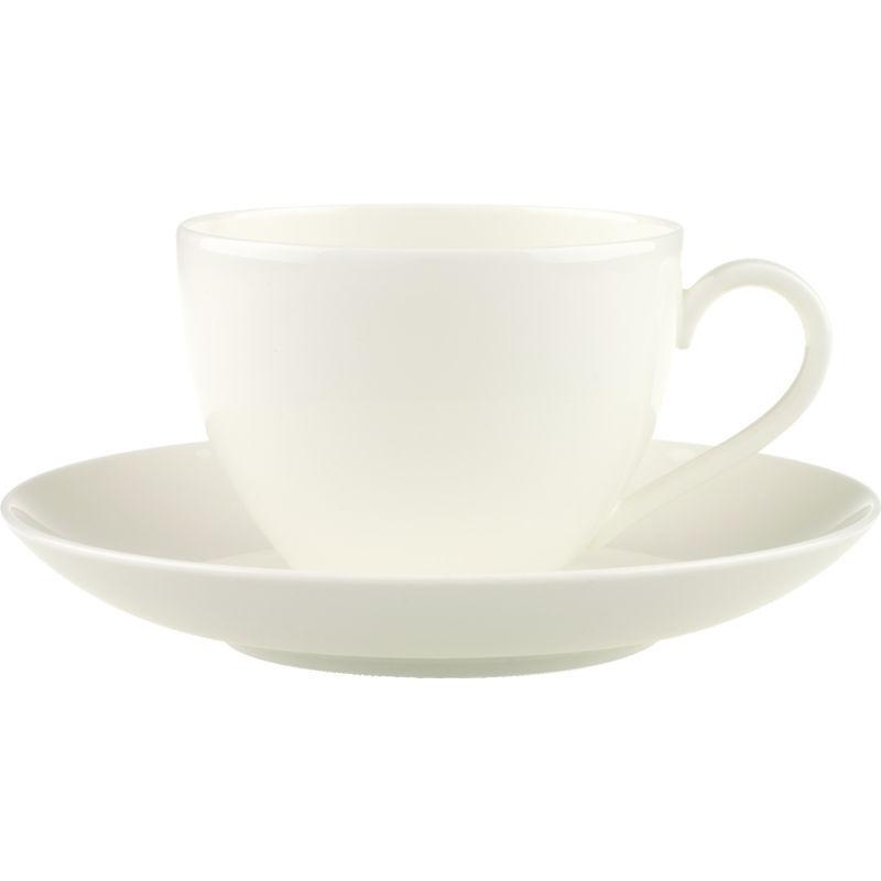 Villeroy & Boch - Anmut - filiżanka do kawy ze spodkiem - pojemność: 0,2 l