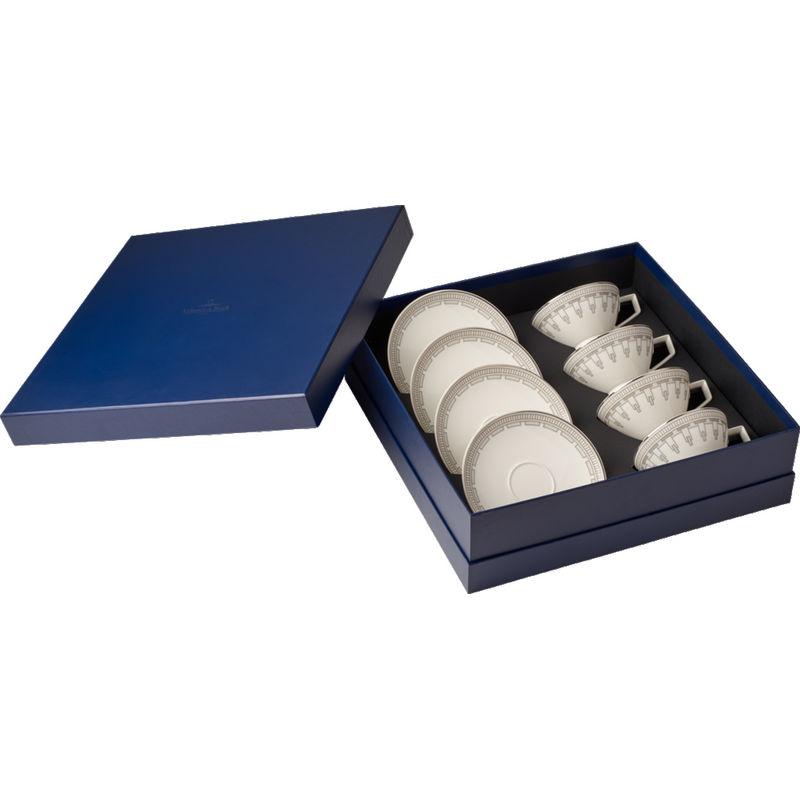 Villeroy & Boch - La Classica Contura - zestaw do herbaty - dla 4 osób