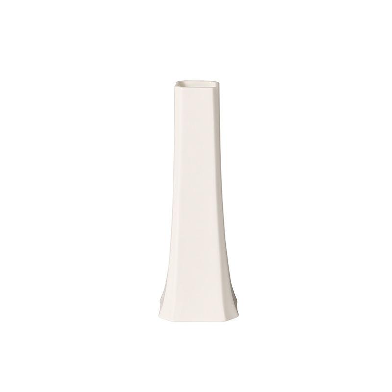 Villeroy & Boch - Classic Gifts White - wazon na jeden kwiat - wymiary: 6,5 x 6,5 x 19 cm
