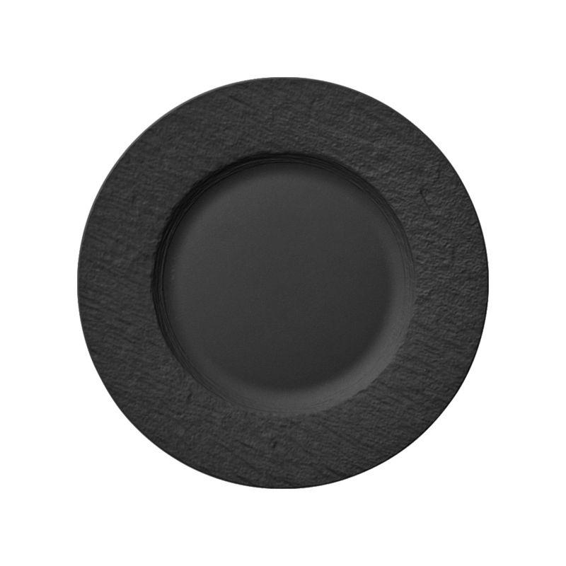Villeroy & Boch - Manufacture Rock - talerz płaski - średnica: 27 cm