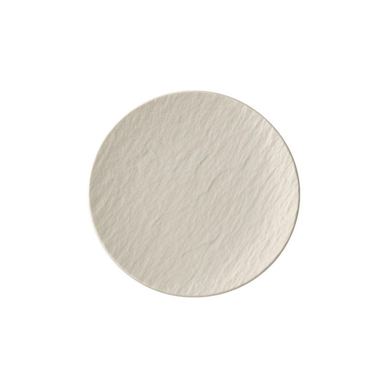 Villeroy & Boch - Manufacture Rock blanc - talerzyk deserowy - średnica: 16 cm