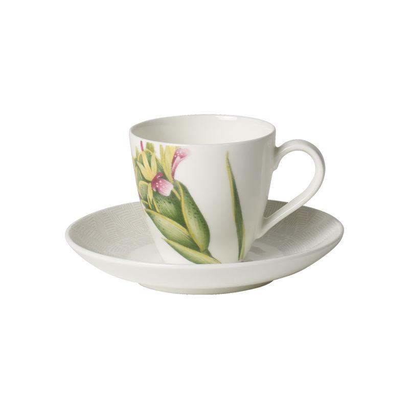 Villeroy & Boch - Malindi - filiżanka do espresso ze spodkiem - pojemność: 0,1 l