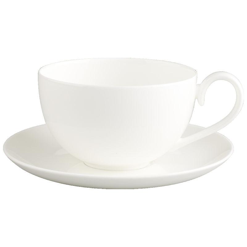 Villeroy & Boch - Royal - duża filiżanka śniadaniowa ze spodkiem - pojemność: 0,5 l