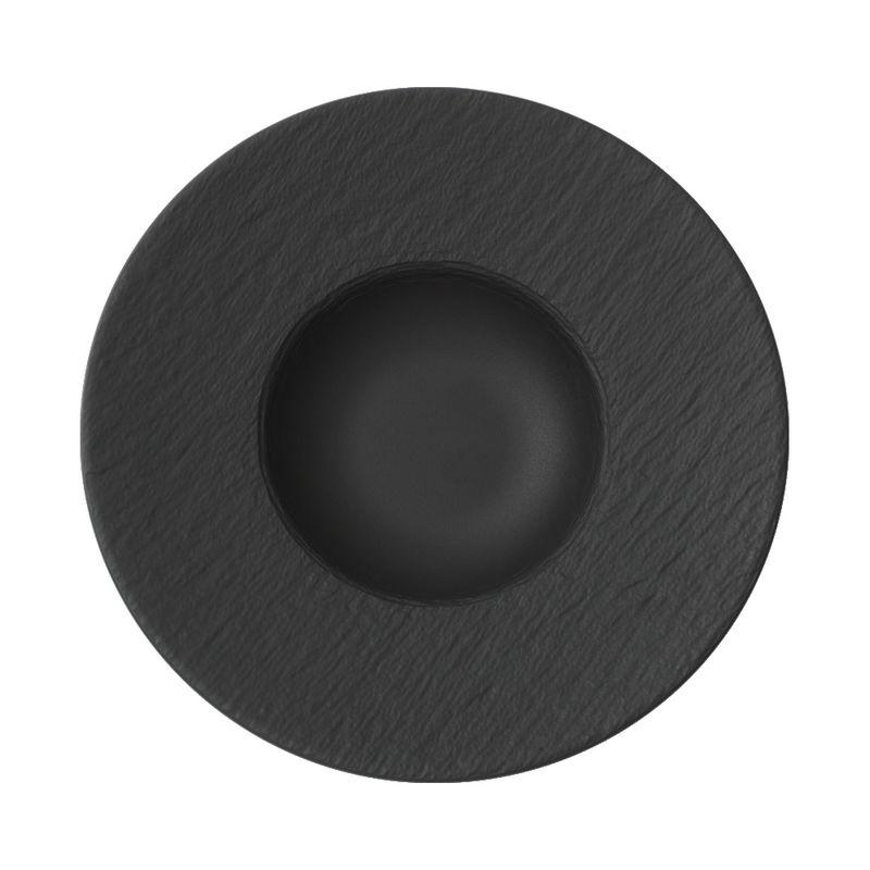 Villeroy & Boch - Manufacture Rock - talerz do makaronu - średnica: 29 cm