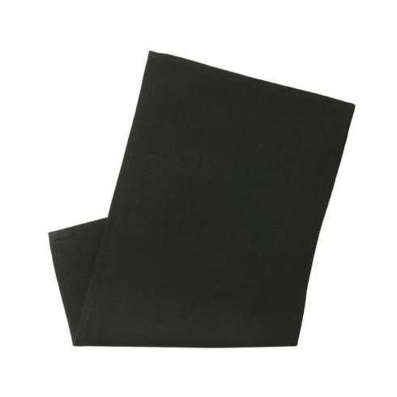 Sagaform - Textile - serwetki czarne - 6 sztuk - wymiary: 45 x 45 cm