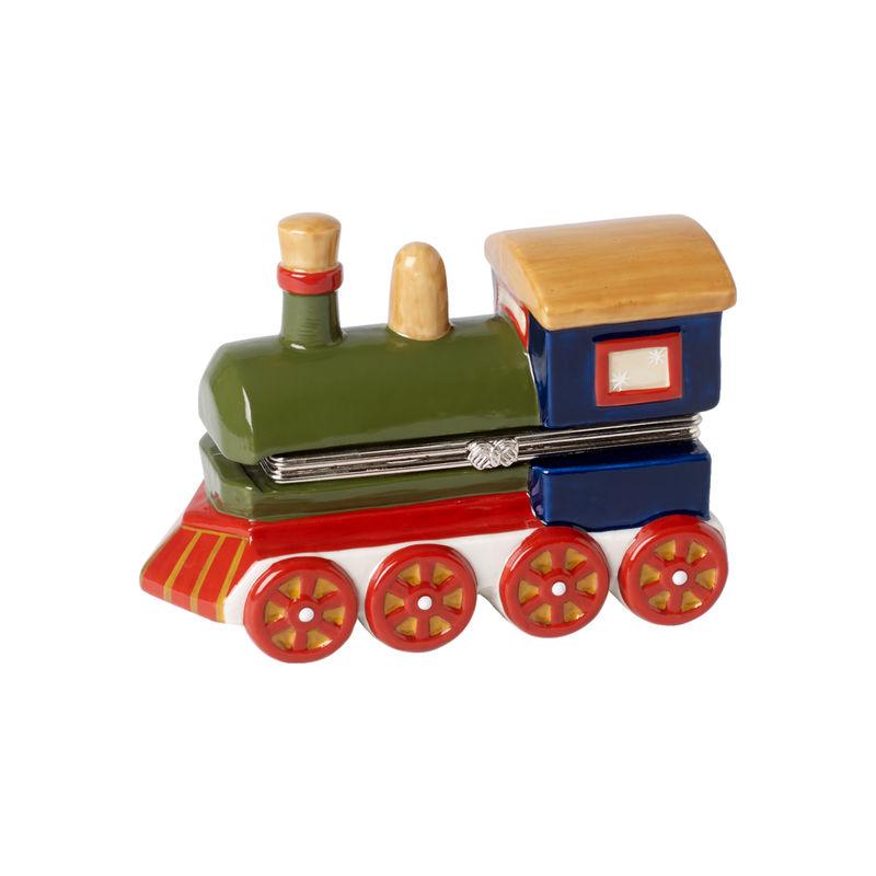 Villeroy & Boch - Christmas Toys - szkatułka-lokomotywa - wymiary: 12 x 5,3 x 9 cm