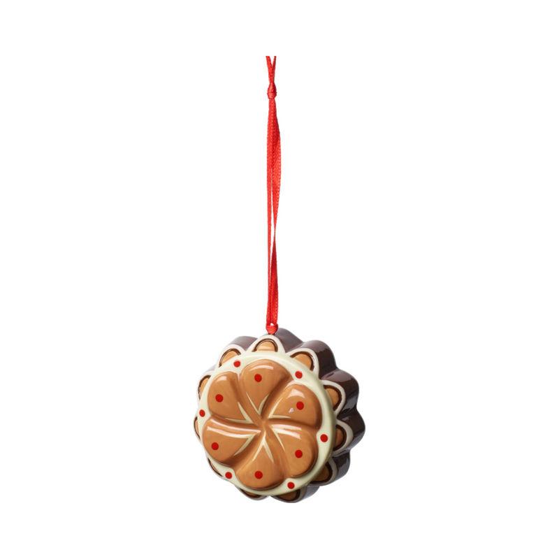 Villeroy & Boch - Winter Bakery Decoration - zawieszka - ciasto z toffi - średnica: 7 cm