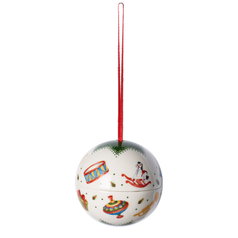 Villeroy & Boch - My Christmas Tree - bombka pudełko - zabawki - średnica: 8 cm