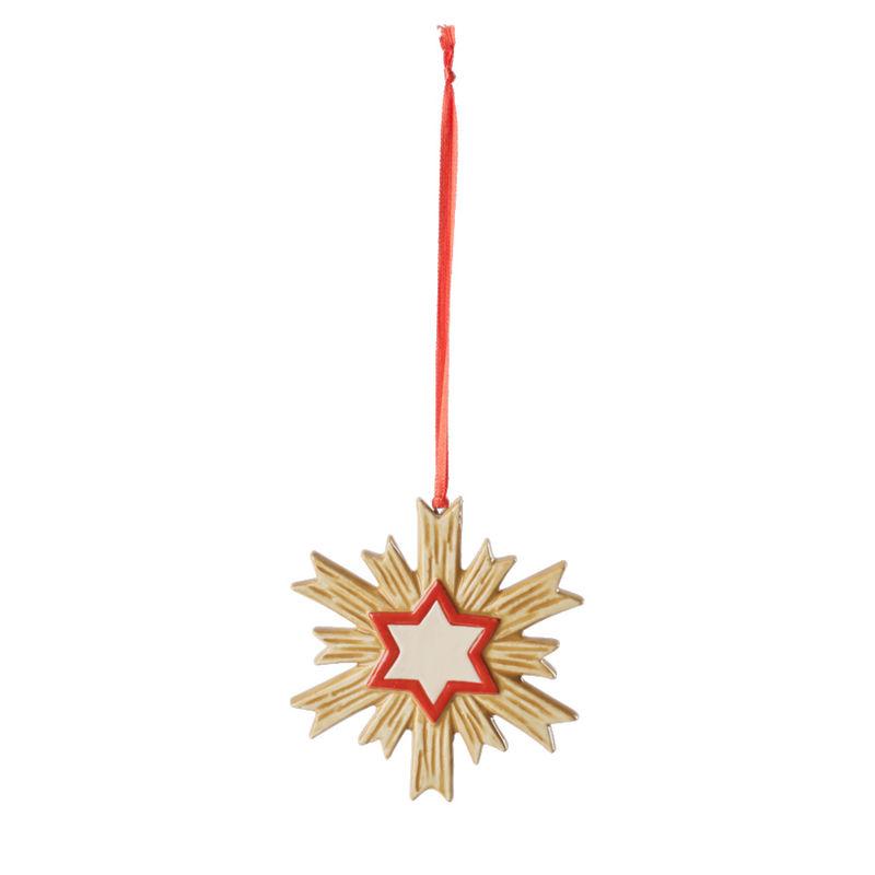 Villeroy & Boch - Toy's Delight Decoration - zawieszka - gwiazda - wysokość: 9 cm