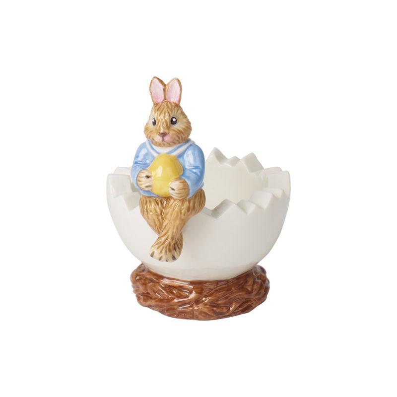Villeroy & Boch - Bunny Tales - świecznik na tealight - zajączek Max - wysokość: 8,5 cm