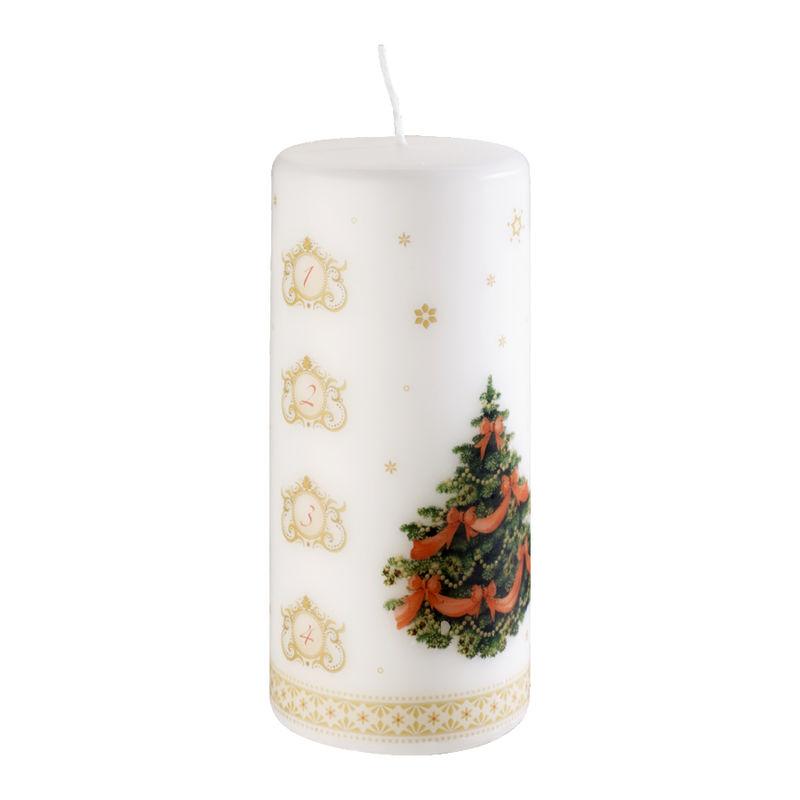 Villeroy & Boch - Christmas Toys - świeca adwentowa - wysokość: 15 cm