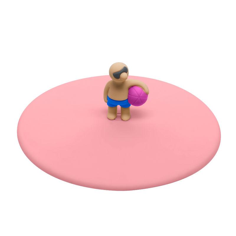 Lurch - My Lid - pokrywka silikonowa - piłka plażowa - średnica: 10,5 cm