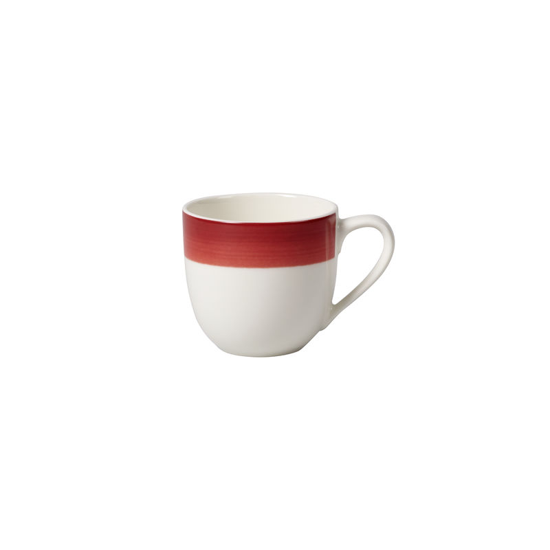 Villeroy & Boch - Colourful Life Deep Red - filiżanka do espresso - pojemność: 0,1 l