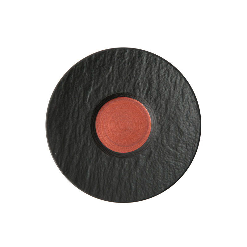 Villeroy & Boch - Manufacture Rock Glow - spodek do filiżanki do espresso - średnica: 12 cm