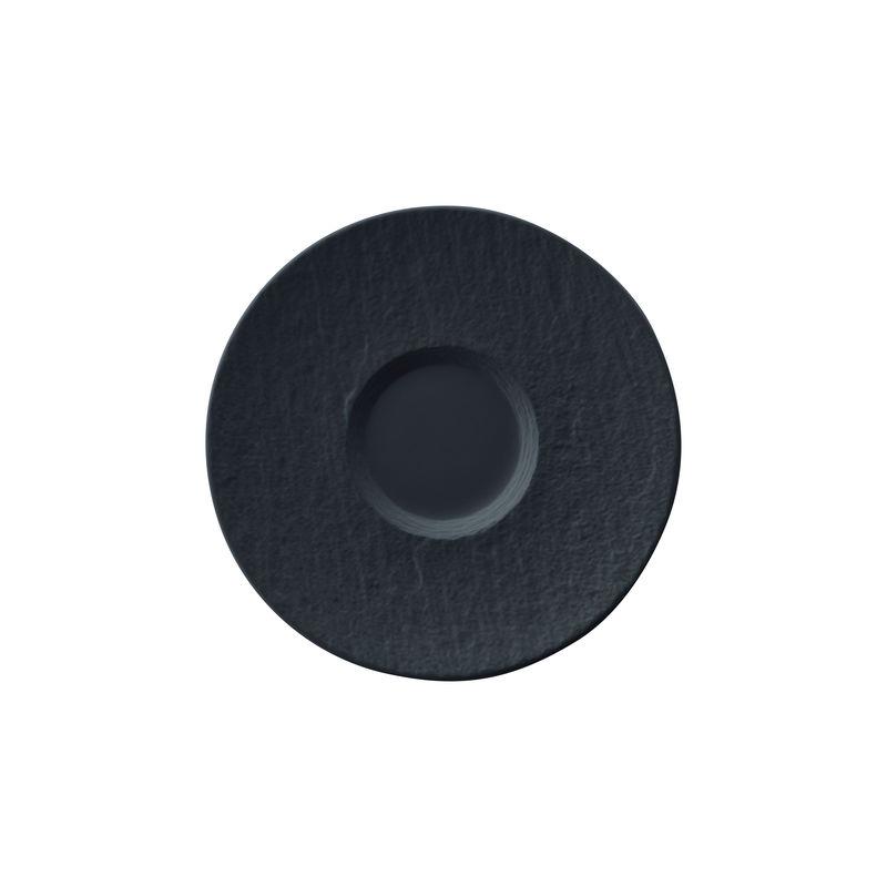 Villeroy & Boch - Manufacture Rock - spodek do filiżanki do kawy - średnica: 15,5 cm