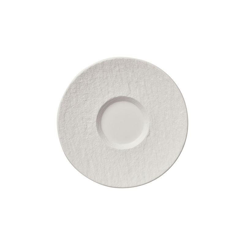 Villeroy & Boch - Manufacture Rock blanc - spodek do filiżanki do kawy - średnica: 15,5 cm