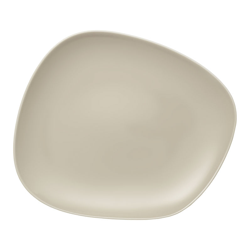 Villeroy & Boch - Organic Sand - talerz płaski - wymiary: 30 x 24 cm