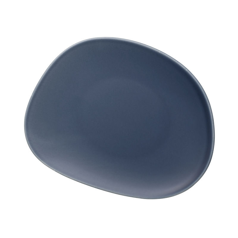 Villeroy & Boch - Organic Turquoise - talerz sałatkowy - wymiary: 21 x 17 cm