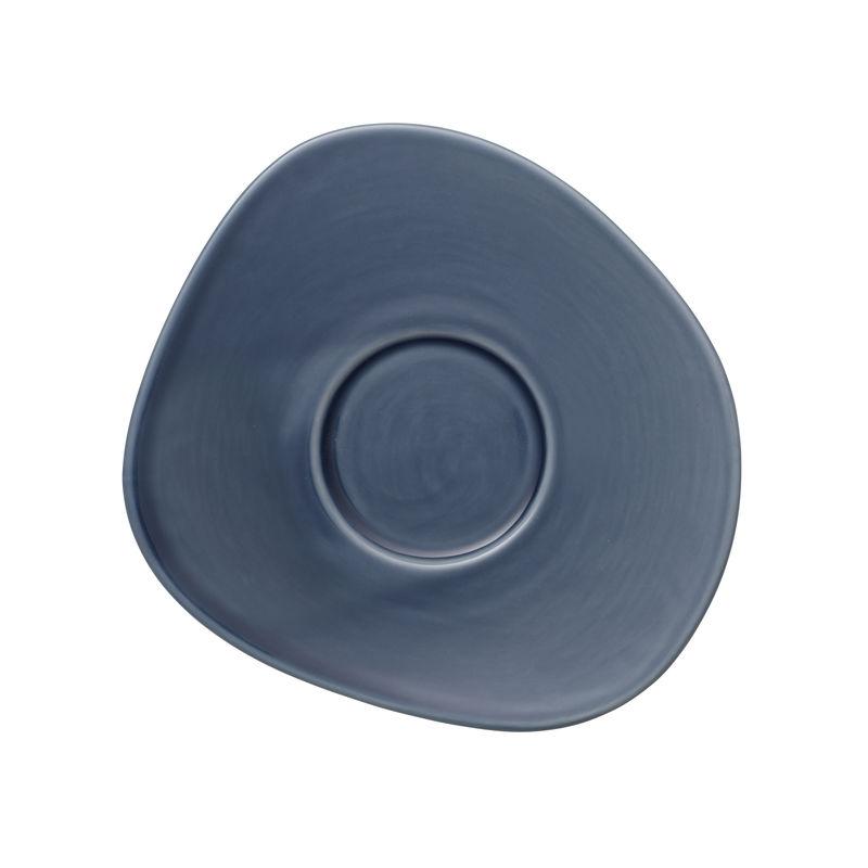 Villeroy & Boch - Organic Turquoise - spodek do filiżanki do kawy - wymiary: 17,5 x 16 cm