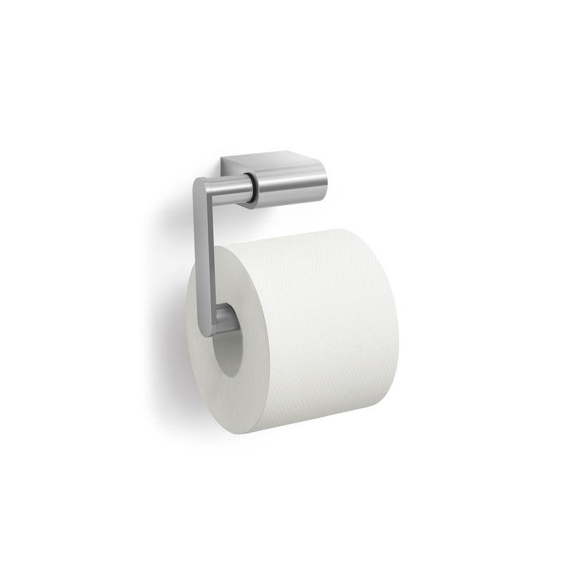 Zack - Atore - uchwyt na papier toaletowy - wymiary: 12,5 x 5,5 x 10,5 cm; matowa stal