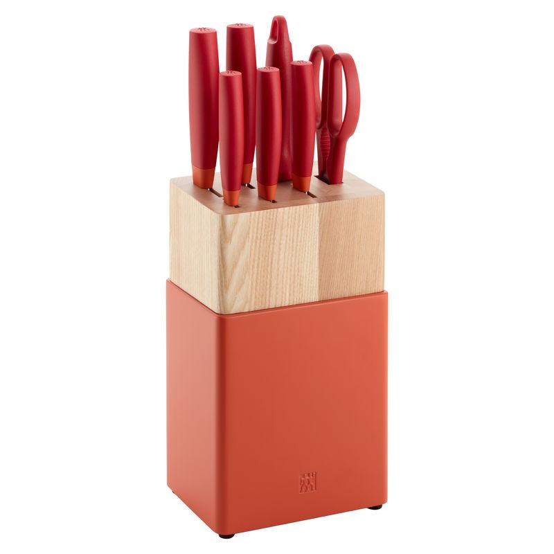 Zwilling - Now S - zestaw noży w bloku - 5 noży, ostrzałka, nożyczki
