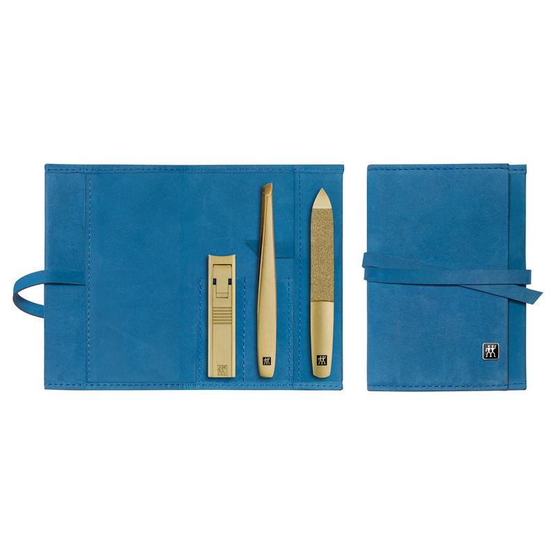 Zwilling - Twinox Gold Edition - zestaw do manicure - 3 elementy