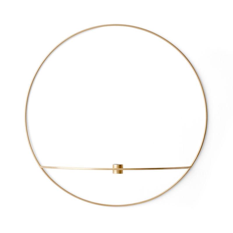 Menu - POV Circle - świecznik naścienny - średnica: 44 cm