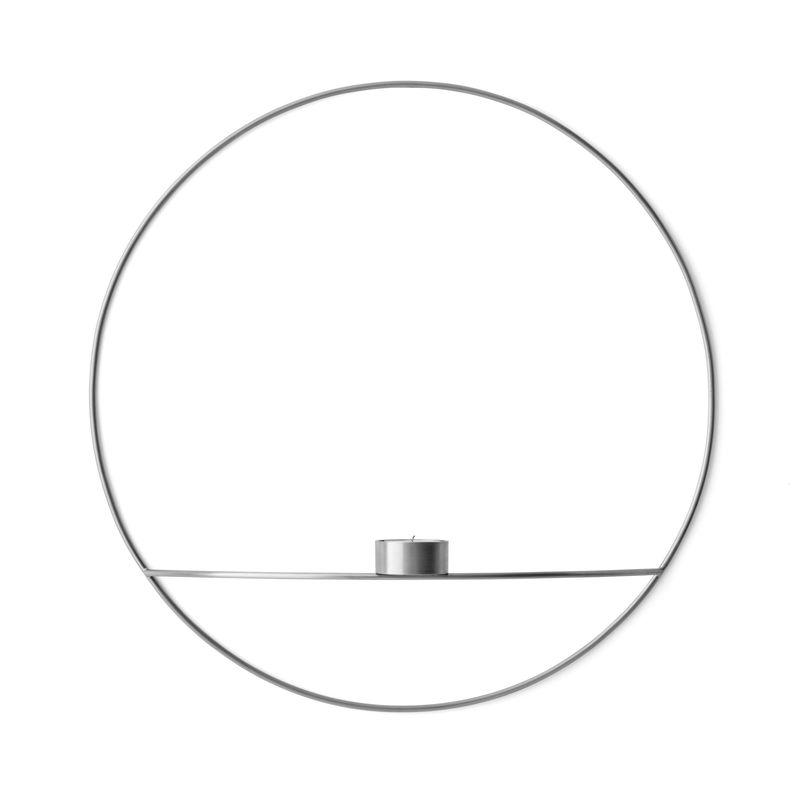 Menu - POV Circle - naścienny świecznik na tealight - średnica: 44 cm