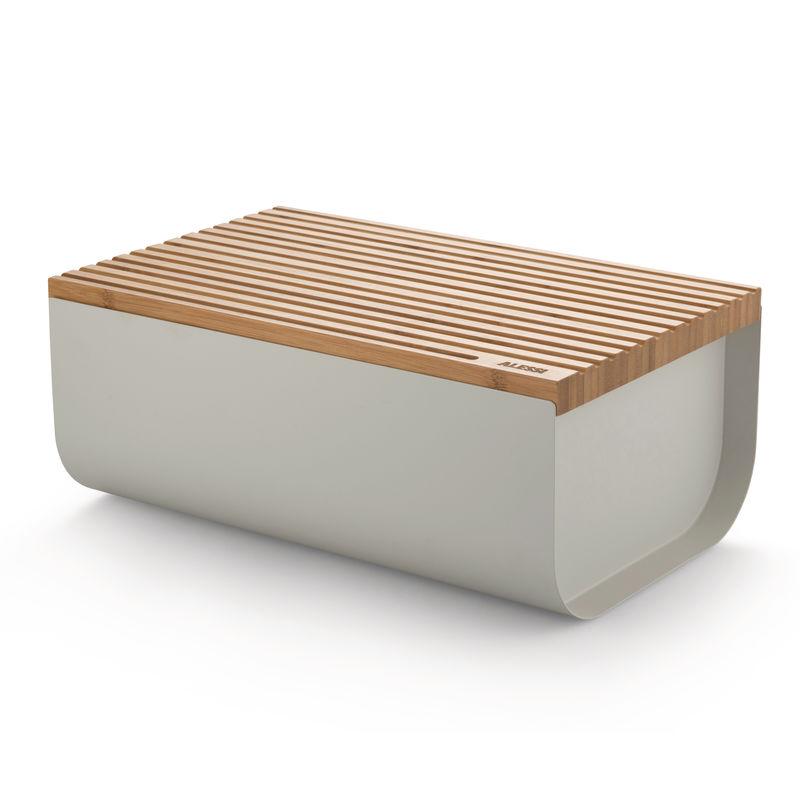 Alessi - Mattina - pojemnik na pieczywo - wymiary: 34 × 21 × 14 cm
