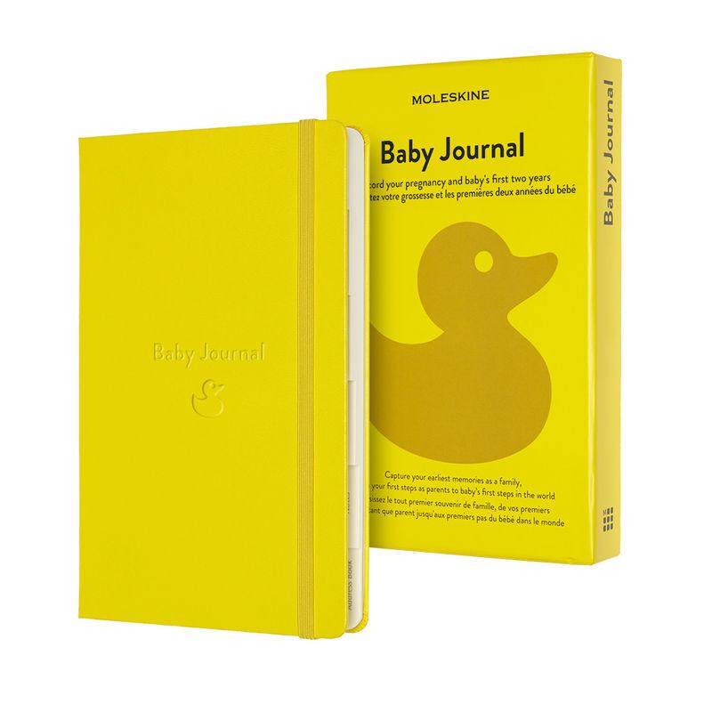 Moleskine - Baby Journal - notatnik - dziecko - wymiary: 13 x 21 cm; 400 stron