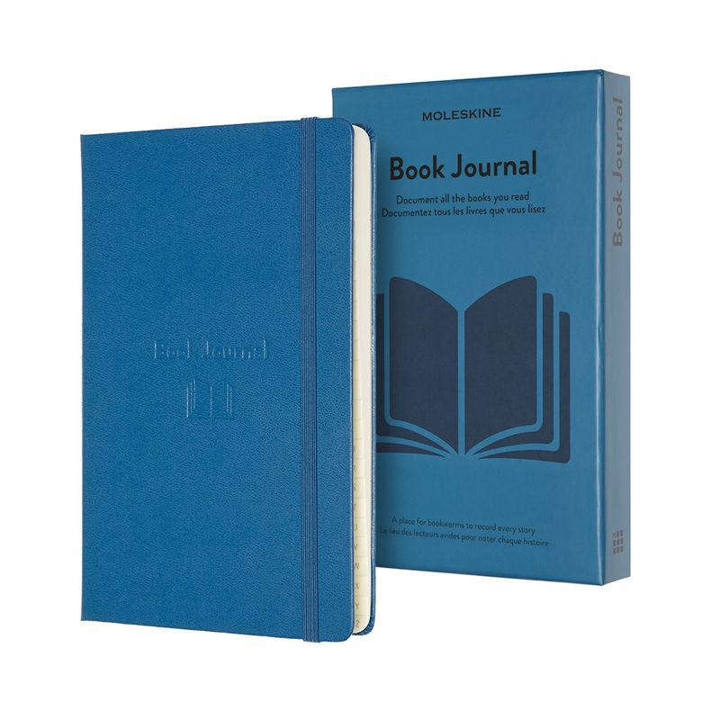 Moleskine - Book Journal - notatnik - książki - wymiary: 13 x 21 cm; 400 stron