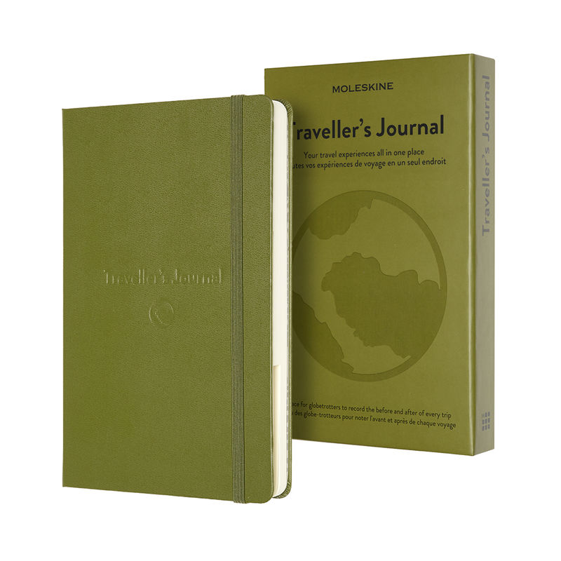 Moleskine - Traveller's Journal - notatnik - podróże - wymiary: 13 x 21 cm; 400 stron