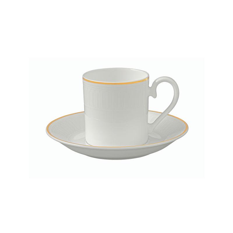 Villeroy & Boch - Château Septfontaines - filiżanka do espresso ze spodkiem - pojemność: 0,1 l