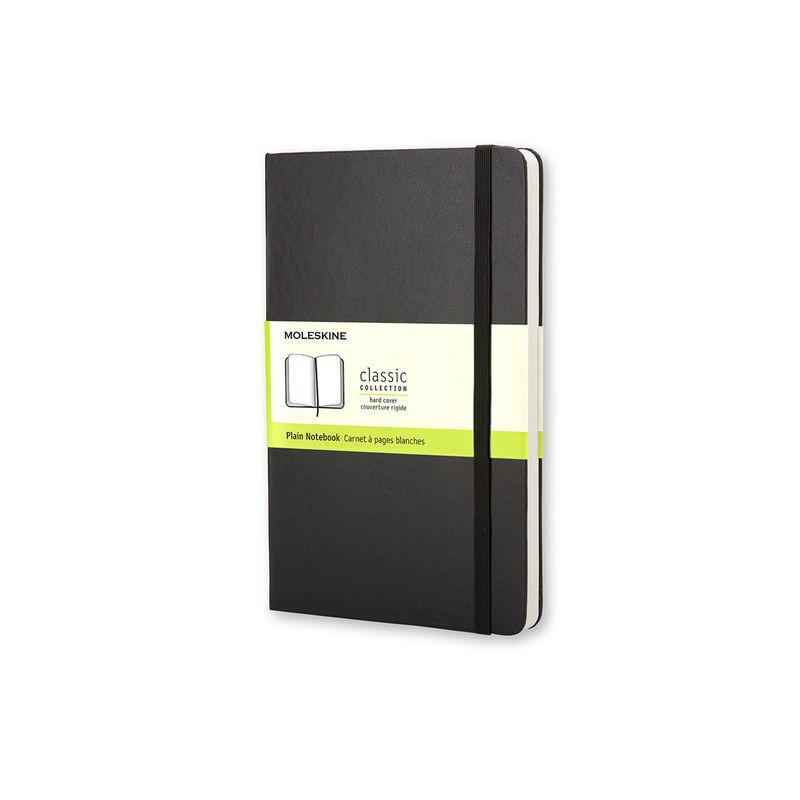 Moleskine - Classic - notatnik gładki - wymiary: 9 x 14 cm; twarda oprawa