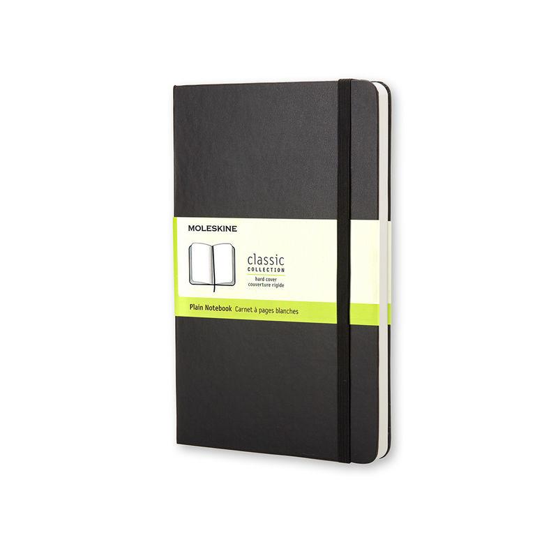 Moleskine - Classic - notatnik gładki - wymiary: 13 x 21 cm; twarda oprawa