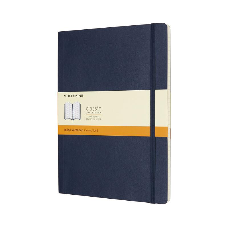Moleskine - Classic - notatnik w linie - miękka oprawa