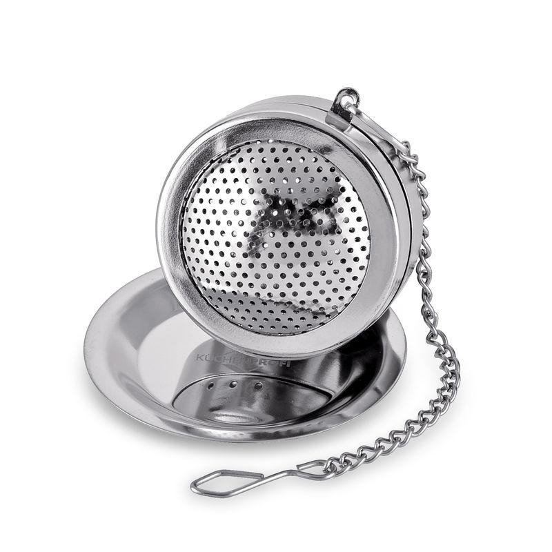Küchenprofi - Tea - zaparzacz do herbaty na łańcuszku - średnica: 4 cm