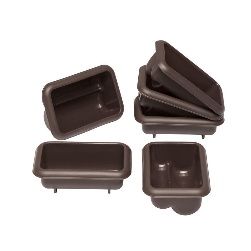 Lurch - FlexiForm - 6 foremek na mini-strucle - wymiary: 9 x 5,5 x 4 cm