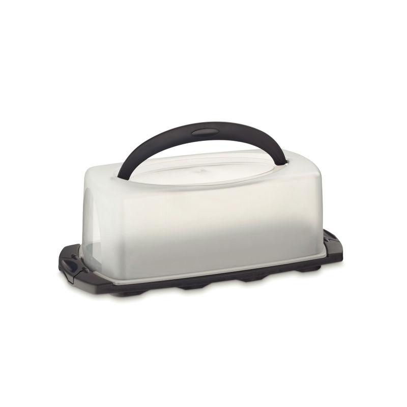 Kela - Deli - pojemnik na ciasto - wymiary: 40 x 17 x 14,5 cm