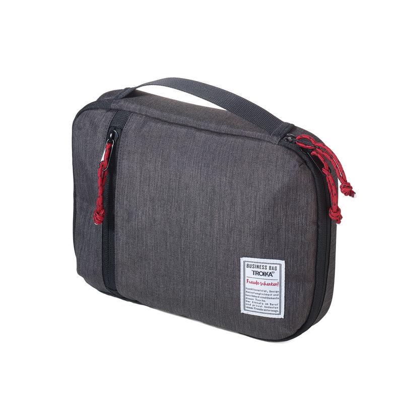 Troika - Business Tech Pouch - torba na akcesoria elektroniczne - wymiary: 26 x 4 x 19 cm