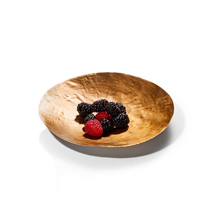 Philippi - Brass - patera na owoce - średnica: 21 cm