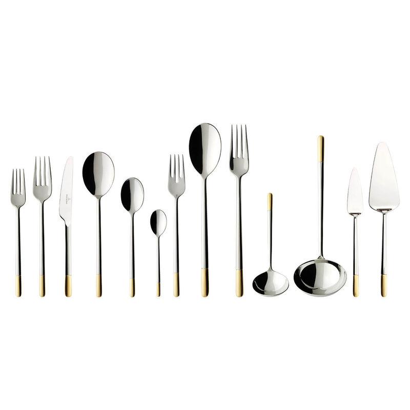 Villeroy & Boch - Ella Gold Plated - sztućce - komplet 113 sztuk - dla 12 osób