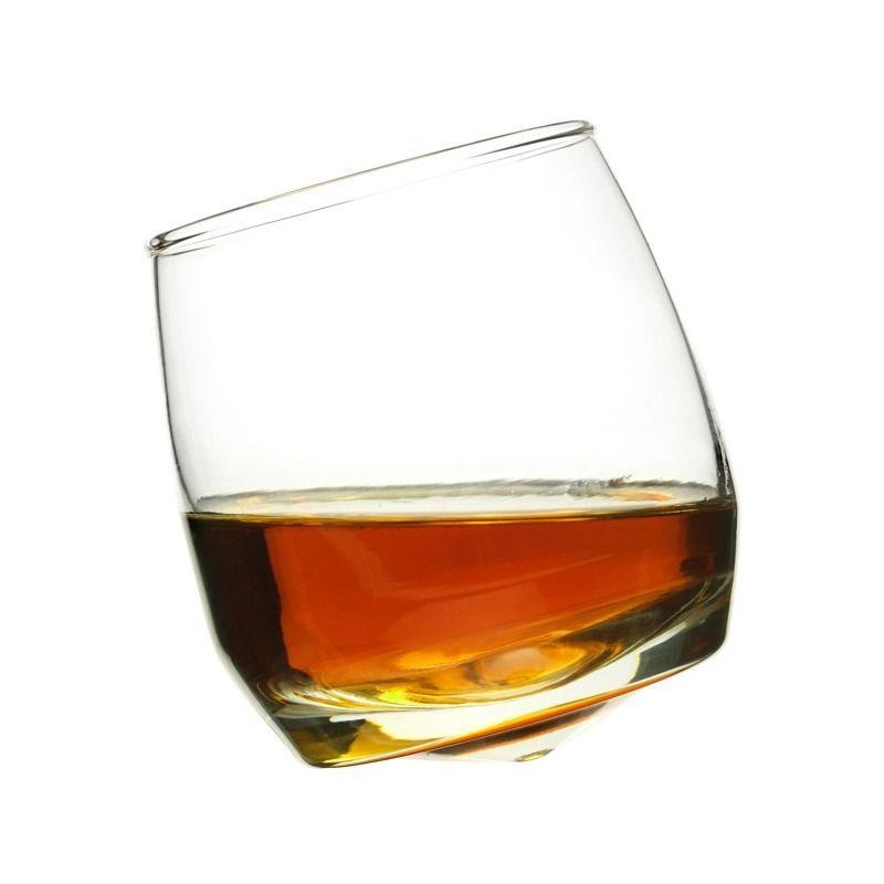 Sagaform - Bar - bujające się szklanki do whiskey - 6 sztuk; pojemność: 0,2 l