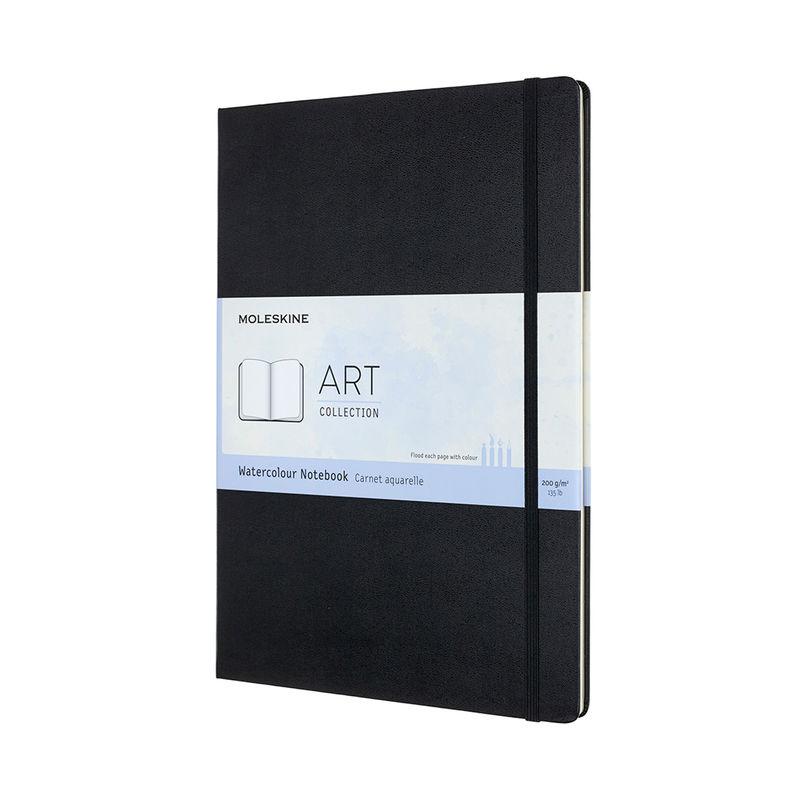 Moleskine - Watercolor Notebook - notatnik do akwareli - 60 stron; wymiary: 21 x 29,7 cm (A4)