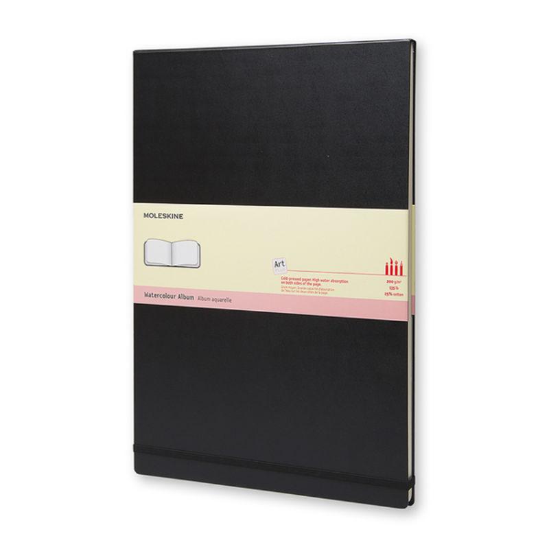 Moleskine - Watercolor Album - album do akwareli - 60 stron; wymiary: 29,7 x 42 cm (A3)