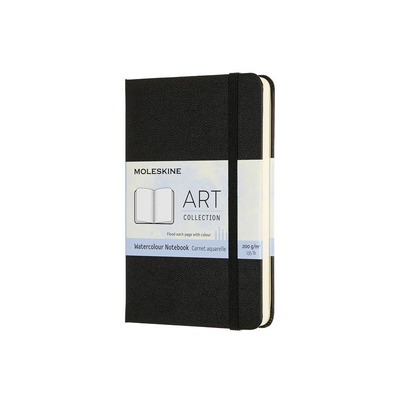 Moleskine - Watercolor Notebook - notatnik do akwareli - 60 stron; wymiary: 9 x 14 cm (Pocket)