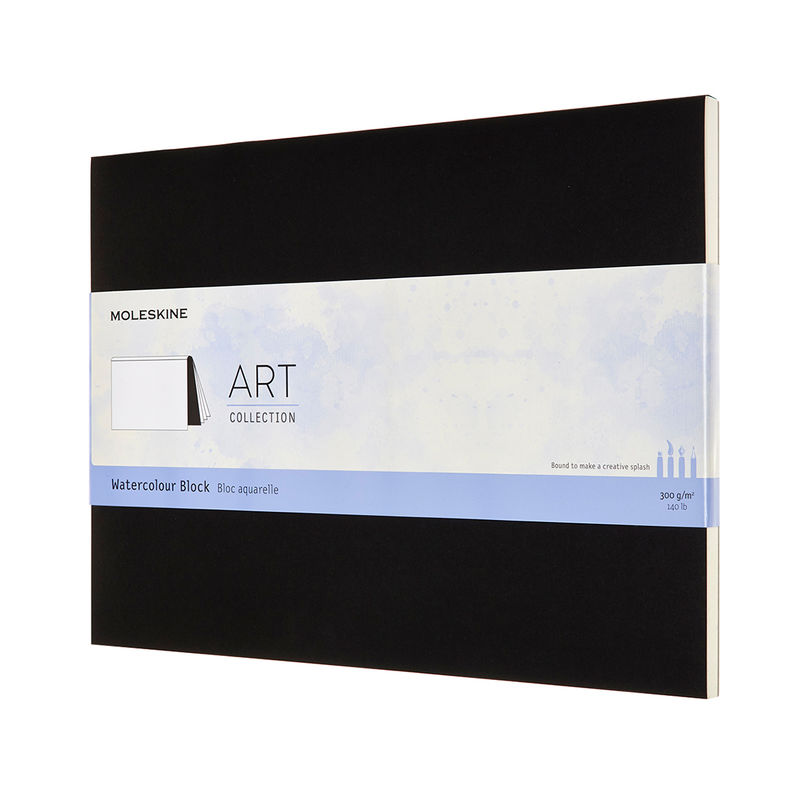Moleskine - Watercolor Block - blok do akwareli - 20 stron; wymiary: 23 x 31 cm