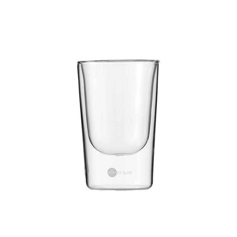 Jenaer Glas - Primo - 2 szklanki o podwójnych ściankach - pojemność: 0,15 l